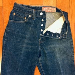 Levi's 501 STF Vintage High Rise Waist Wedgie Jean